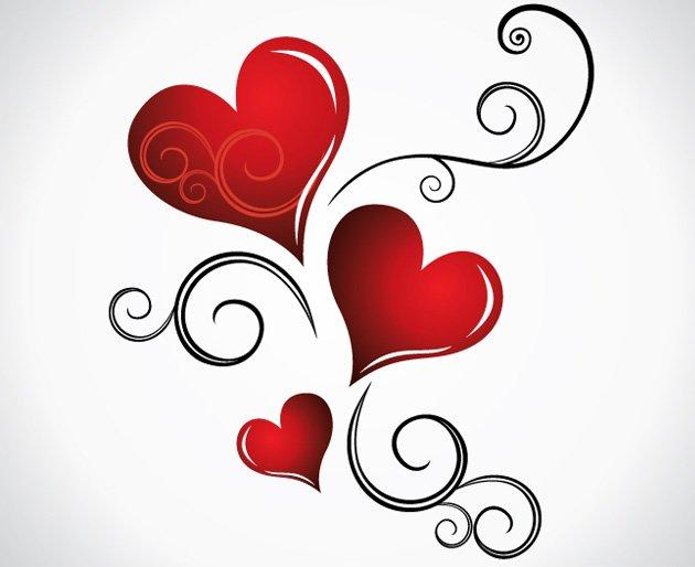 Todo Corazones Cartel De Amor Corazones Bonitos Y Brillantes Animado