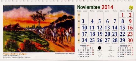 CALENDARIO 2014 noviembre