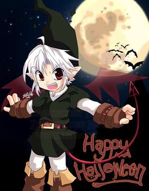 Happy_Halloween__Dark_Link_by_Chibi_Rinku