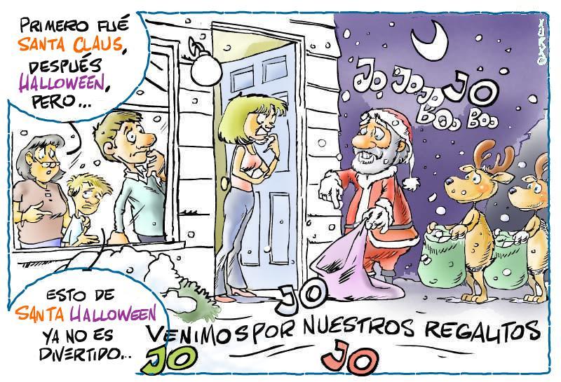 Santa Claus Halloween