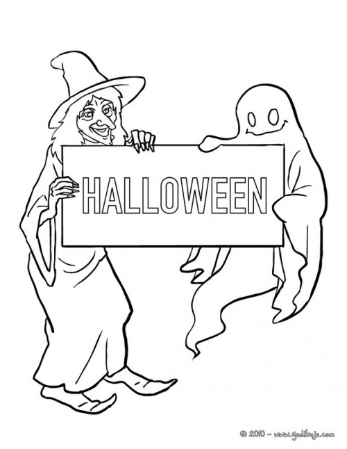 brujas-para-colorear-de-halloween-witch-with-gost-holding-halloween-sign-01-lf3_59f