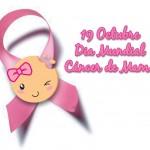Un día para recordar compartiendo lazos rosa- Cáncer de mama en WhatsApp
