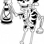 Esqueletos tipo mexicanos, Catrinas y calaveras para pintar o compartir en Halloween o Día de los Muertos