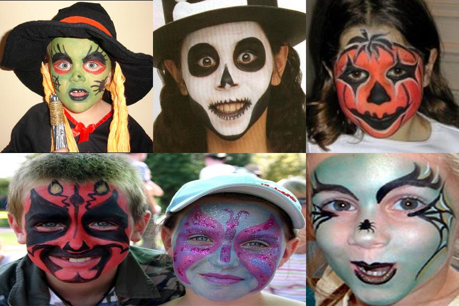 maquillaje-niaos-halloween-2009