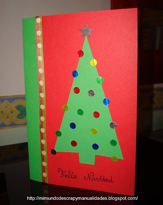 Manualidades tarjetas navide as centros de mesa - Postales navidenas creativas ...