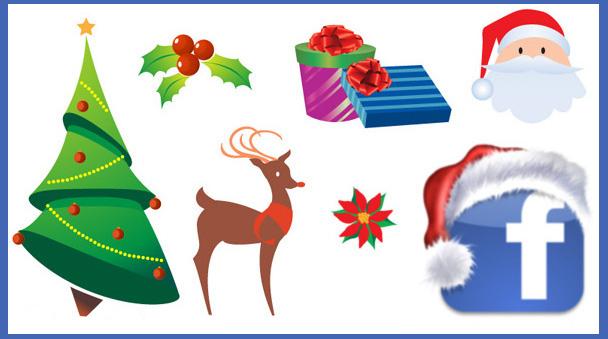 simbolos para facebook de navidad