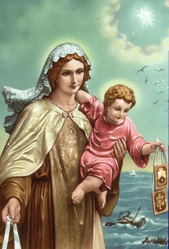 virgen stella maris oracion pedir bienes, favores, proteccion 3