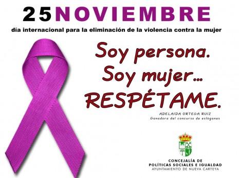 eslogan web violencia contra la mujer
