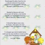 Poesías de Navidad con dibujos infantiles para WhatsApp