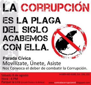 contra la corrupcion