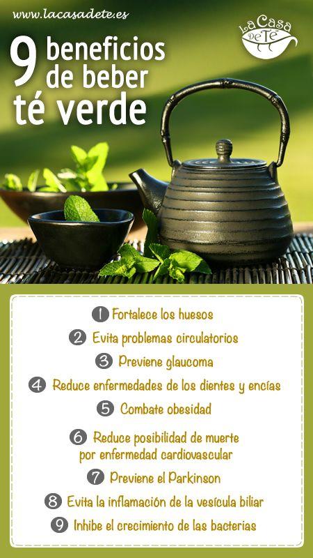 infografias del te verde