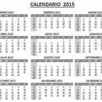 Calendarios 2015 para imprimir o compartir