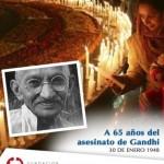 Día de la Paz y la No Violencia para WhatsApp: Reflexiones de Mahatma Gandhi