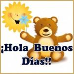 Tarjetas con mensajes bonitos de Buenos Días para compartir