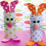 Ideas fáciles y económicas para hacer los conejitos de Pascuas para regalar