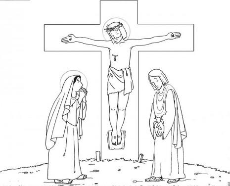 cruzdibujos-de-jesus-crucificado-para-colorear