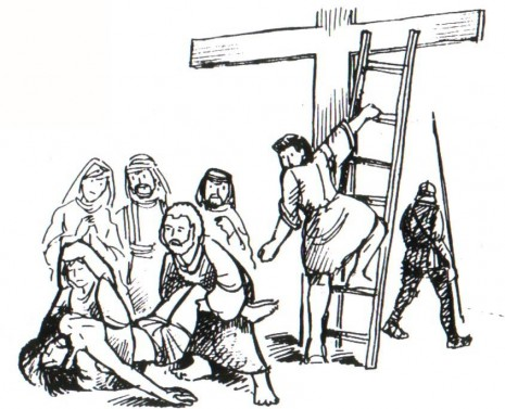 cruzjesus bajado de la cruz