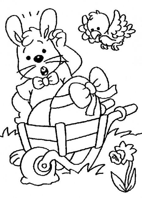 feliz pascua coloring pages | Manualidades infantiles para hacer en las Pascuas y para ...