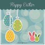 Tarjetas bonitas de Happy Easter (Feliz Pascua) para regalar esta Semana Santa o para WhatsApp