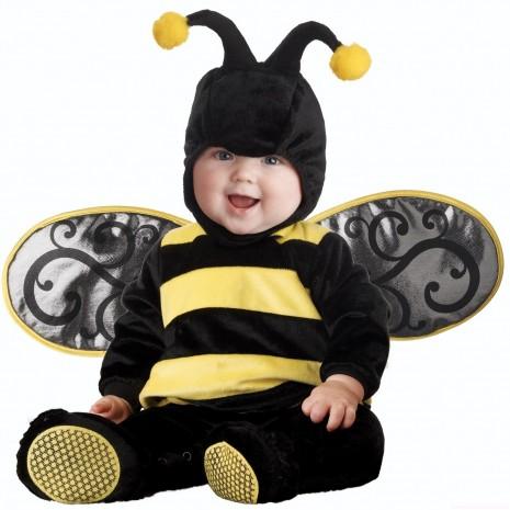 Bebe-disfrazado-de-abeja