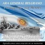 Día del Hundimiento del crucero Gral. Belgrano en el conflicto de las Islas Malvinas