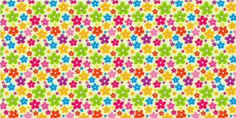 floresmural-de-patrones-florales-con-fondo-blanco-y-margaritas-de-colores