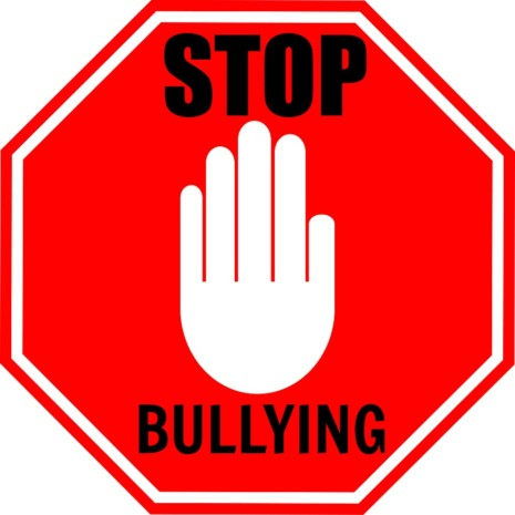 acosoStopBullyingSign