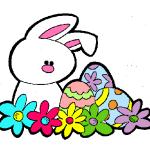 Imágenes divertidas de Pascua con movimiento para WhatsApp: Gifs de Conejitos y Huevos