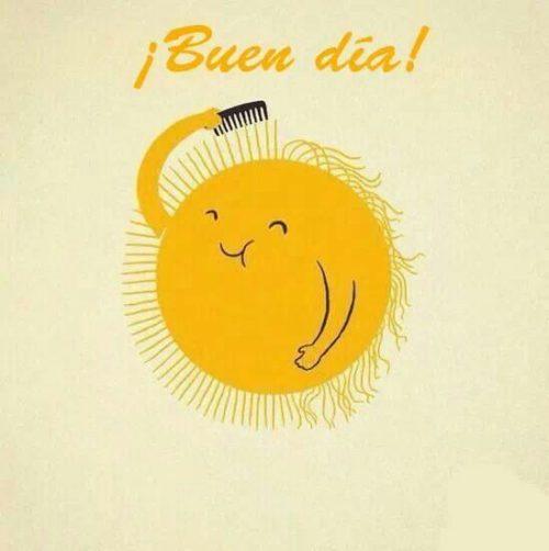 Buenos dias good morning - 3 4