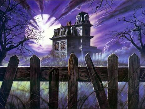 Hhaunted-house