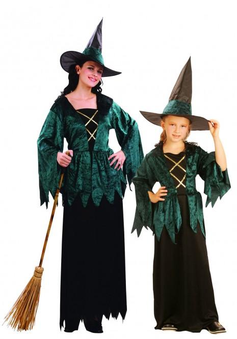 brujas-verdes-halloween-madre-e-hija