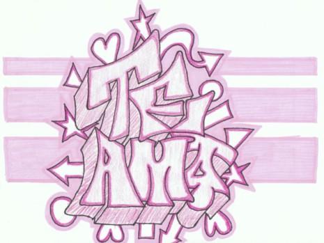 Graffitis de corazones chidos de amor a lápiz : Imágenes para ...