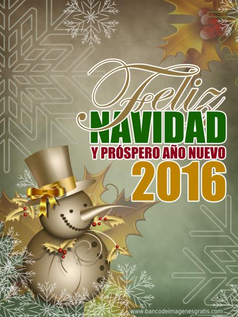 Navidad-y-Prospero-Año-Nuevo-2016-Snowman