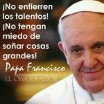 Fotos con mensajes del Papa Francisco para grupos de Whatsapp