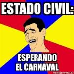 Memes graciosos de Carnaval para compartir en grupos de Whatsapp