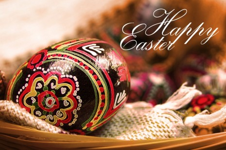 Postcard: Happy Easter images stock Holidays Easter HOME