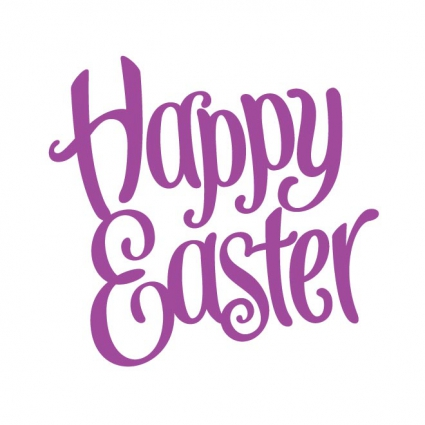 free_vector_happy_easter_typography_569111