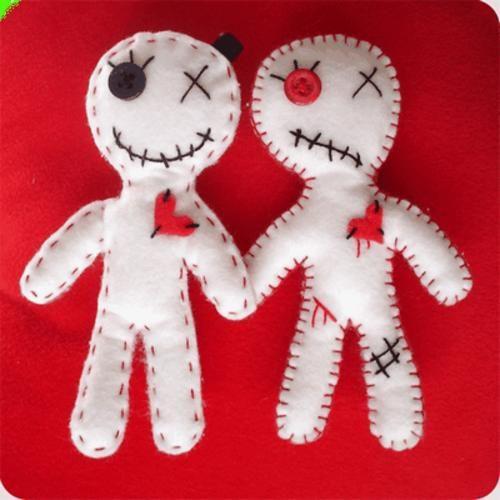 vuduamarres de amor con muñecos