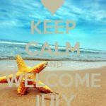 Llego julio: Bonitos carteles del mes de julio para descargar con lindos mensajes