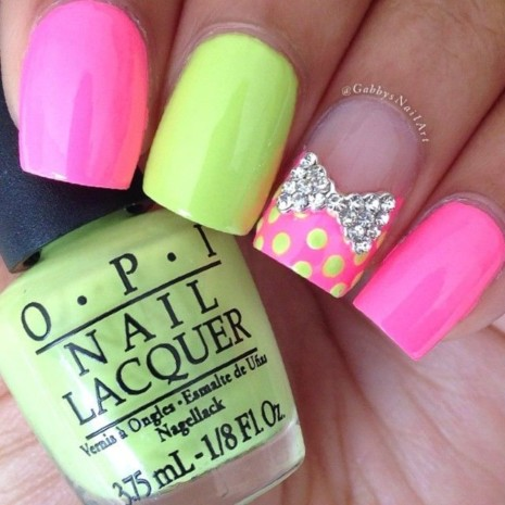 Neon-bows-and-rhinestones
