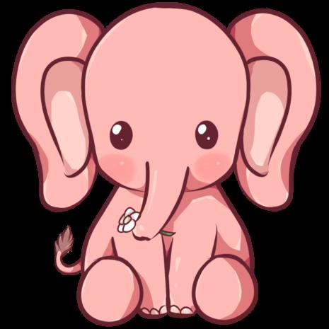 kawaii_elephant_by_dessineka-d9013mq