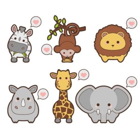 kewaii-safari-animal-i