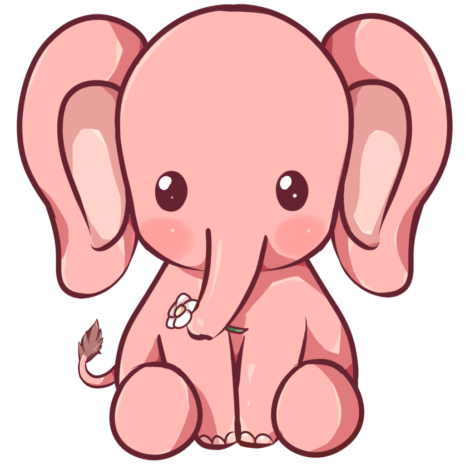 kewaii_elephant_by_dessineka-d9013mq