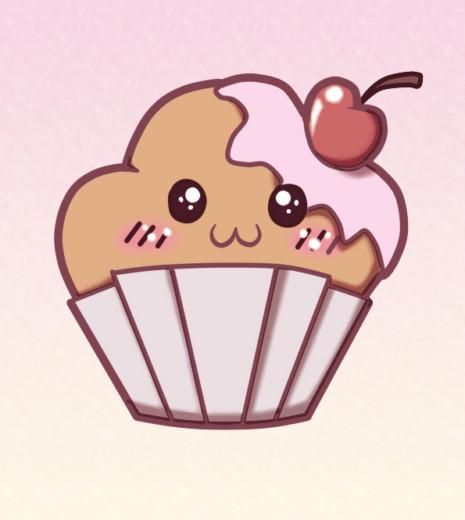kewaii_muffin_by_elekmario-d5ul3eh