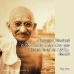 Frases motivadoras y reflexivas de Mahatma Gandhi para descargar gratis y compartir