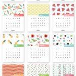 Calendario 2017 mes a mes – Almanaques para descargar o para WhatsApp
