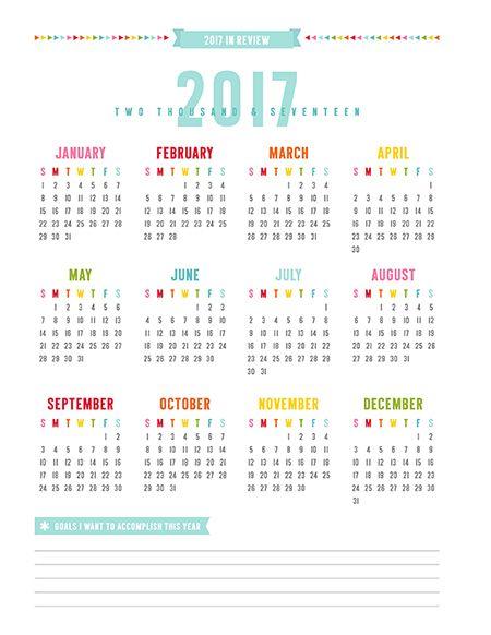 Esta Calendario Adem&225s De Tener Todos Los Meses Del 2017 Tiene Un