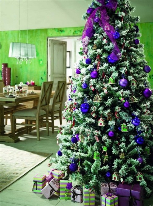 arbol-navidad-decoracion-fotos-2015-tendencias-color-azul-lila-640x857