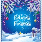 Tarjetas, imágenes y gifs animados de Felices Fiestas y Felíz Navidad con mensajes de paz, amor y felicidad para compartir