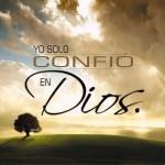 Yo confio en Dios: Imágenes religiosas para WhatsApp